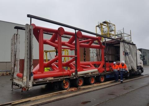 Mobilisation of W2W (Walk to work) vessel