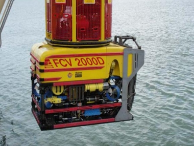 "Launching of ""FCV 2000D work class ROV"""
