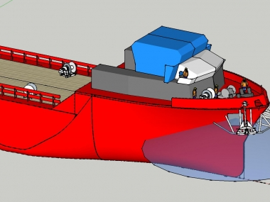 Four Point Mooring System.